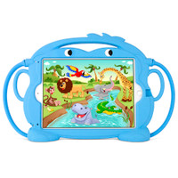 "Gecko Kids Monkey Case for iPad 5/6, Air 1+2 & Pro 9.7"" - Blue"
