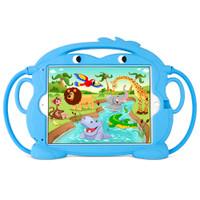 "Gecko Kids Monkey Case for iPad 5/6, Air 1+2 & Pro 9.7"" - Blue"