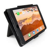 "Gecko Deluxe Folio for iPad 5/6, Air 1+2 & Pro 9.7"" - Black"