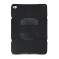 Gecko Rugged Classic Case for iPad Air 2- Black/Black