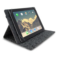 "Gecko Universal Grip Folio - 7"" to 8.4"" - Black"