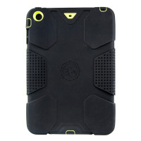 Gecko Ultra Tough Classic Case for iPad mini 1/2/3 - Black/Citron