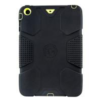 Gecko Ultra Tough Classic Case for iPad mini 1/2/3 - Black/Citron