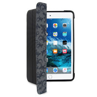 Gecko Ultra Tough Hybrid Folio for iPad mini 4 - Black/Grey