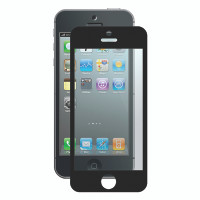 Gecko Bubble-Free Screen Protector for iPhone 5/5s/SE - Black - 2 Pack