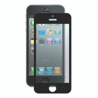 Gecko Bubble-Free Screen Protector for iPhone 5/5s/SE - Black - 1 Pack