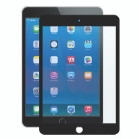 """Gecko Bubble-Free Screen Protector for iPad 5/6, Air 1+2 & Pro 9.7"""" - Black - 1 Pack"""
