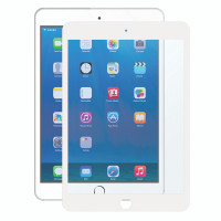 """Gecko Bubble-Free Screen Protector for iPad 5/6, Air 1+2 & Pro 9.7"""" - White - 1 Pack"""