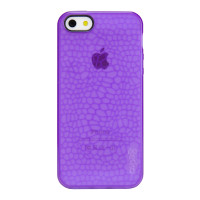 Gecko Glow Case for iPhone 5/5s/SE - Purple