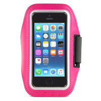 Gecko Active Sports Armband for iPhone 5/5s/SE & iPod Touch 5/6 - Pink