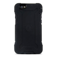 Gecko Rugged Classic Case for iPhone 6/6s - Black/Black