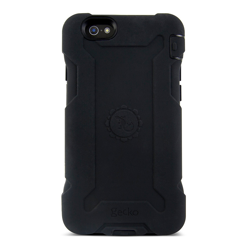 huge selection of 4b100 c0a7f Gecko Rugged Classic Case for iPhone 6/6s - Black/Black