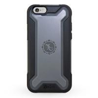Gecko Rugged Hybrid Case for iPhone 6/6s - Black/Grey
