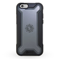 Gecko Rugged Hybrid Case for iPhone 6/6s - Black/Grey