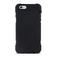 Gecko Ultra Tough Classic for iPhone 6/6s Plus - Black/Black
