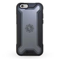 Gecko Ultra Tough Armour Case for iPhone 6/6s - Black/Grey