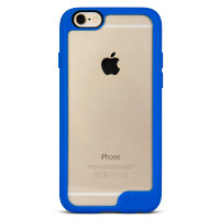 Gecko Vision Case for iPhone 6/6s - Blue Trim