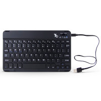 Gecko Slimline Bluetooth® Keyboard - Black