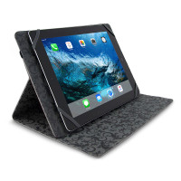 "Gecko Universal Grip Folio - 9.7"" to 10.8"" - Black"