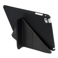 Gecko Origami Case for iPad Mini 4 - Charcoal