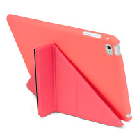 Gecko Origami Case for iPad Mini 4 - Coral