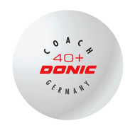 DONIC Coach 40+ (120 Training Table Tennis Balls)