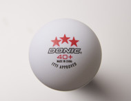 DONIC 40+ *** (120 Competition Table Tennis Balls)