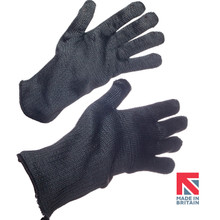 Polysafe®-HT Heavyweight Black Aramid Knitted Glove 35cm (FKTW8/B/35KL)