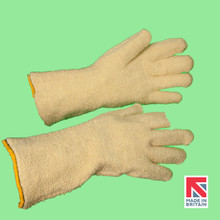 Polysafe® Terry Knit Aramid Glove with Nitrile Lining  35cm (FTK/NT/35)