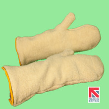 Polysafe® Terry Knit Aramid Mitt with Cotton Lining 40cm (MTK/40DKL)