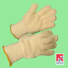 Polysafe® Heavyweight Knitted Aramid Glove with Double Cotton Lining 35cm (FJTK7/35DKL)