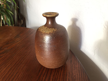 Weedpot Stoneware Vessel, Vintage