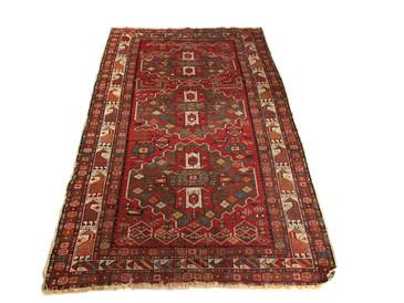 """Caucasian Shirvan antique rug, 6'3"""" x 3'9"""""""