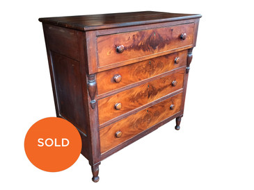 Cherry Chest of Drawers, circa 1800s
