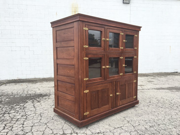 McCray Icebox Cabinet, c. 1800s Antique