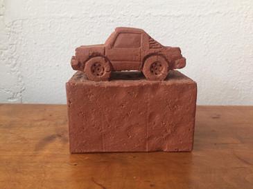Subaru Brat, Brick Car made by Keith Simpson