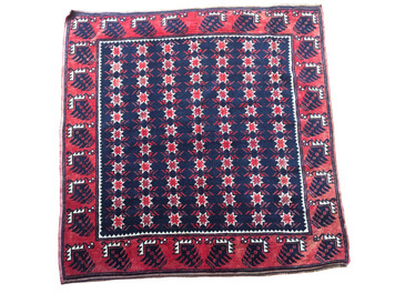 "Yegebedir Anatolian Rug, Semi-Antique 3'3""x3'3"""