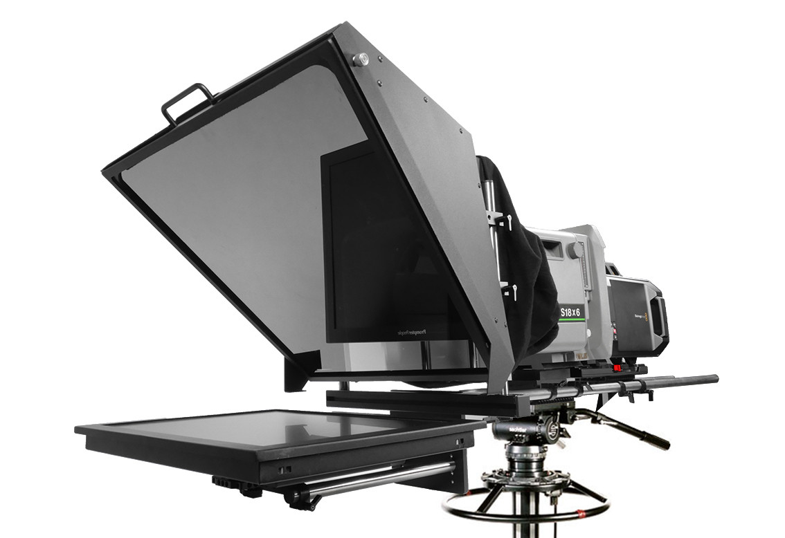 PROMPTERPEOPLE BROADCAST TELEPROMPTER BOX LENS READY EU HighBright 1000 NIT HDMI Monitor