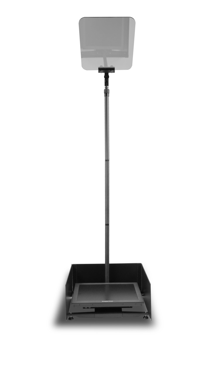 """Stage Pro Carbon Fiber - Stage and Speech Presidential Teleprompter - 17"""" HighBright Monitor"""