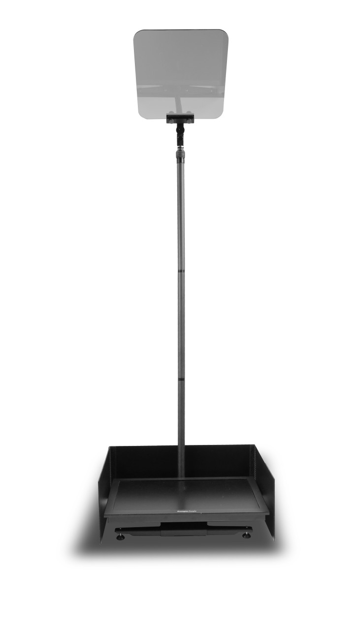 """Stage Pro Carbon Fiber - Stage and Speech Presidential Teleprompter - 24"""" HighBright Monitor"""
