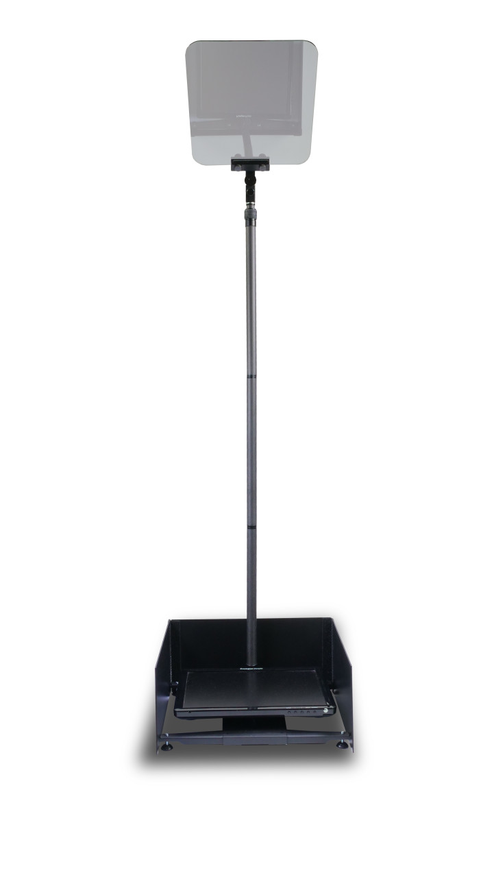 """Stage Pro Carbon Fiber - Stage and Speech Presidential Teleprompter - 17"""" Regular Monitor"""