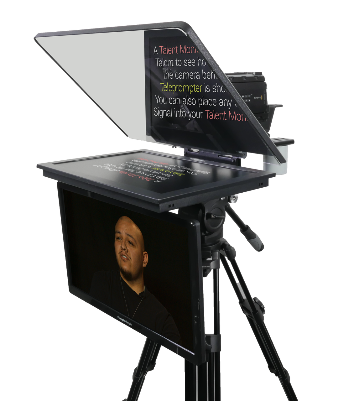 PrompterPeople Talent Monitor - with Signal - International
