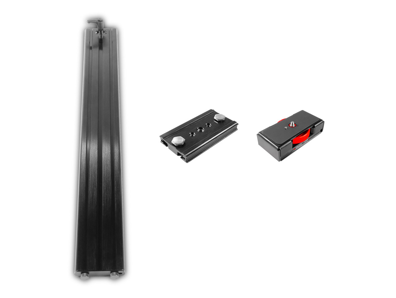 Plus Model Long Sled Add-on for plus models with LowBoy and Tripod Adapter Plate - International