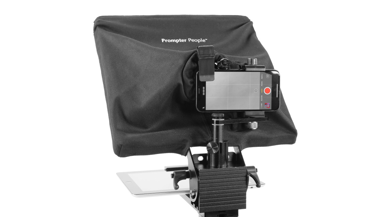 Prompter Pal with iPhone