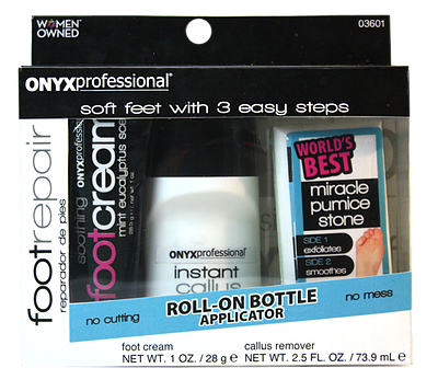 Onyx Professional 3 Piece Foot Repair Kit