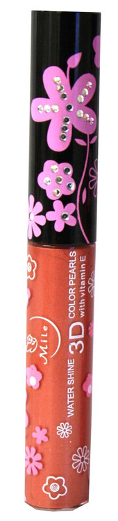 Mile Bronze Shimmer Water Shine 3D Color Pearls Lip Gloss