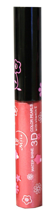 Mile Mauve Shimmer Water Shine 3D Color Pearls Lip Gloss