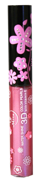 Mile Plum Shimmer Water Shine 3D Color Pearls Lip Gloss