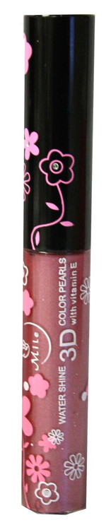 Mile Wild Berry Shimmer Water Shine 3D Color Pearls Lip Gloss