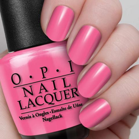 Opi Nail Lacquer 0 5 Oz Strawberry Margarita Ineedbeauty